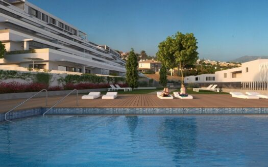3-bedroom apartments in a residential complex in Finestrat
