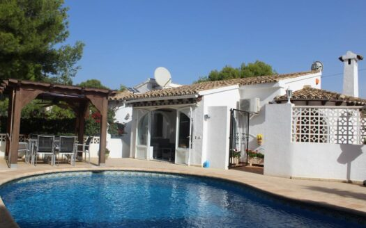 4 Bed Villa With Swimming pool in Moraira