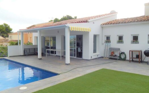 One Level Villa in Moraira