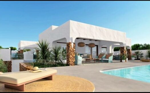Villa with beautiful view over the sea