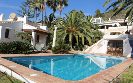 Exceptional Villa With Sea Views Walking Distance to the Beach In El Portet