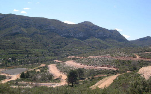 Various building plots for sale in Pedreguer