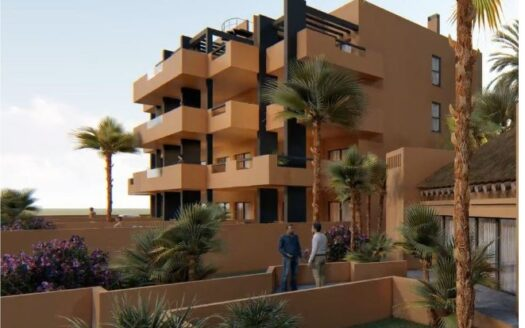 Two bedroom penthouse apartment with terrace for sale in Villamartin