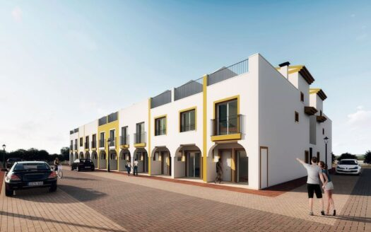 Magnificent newly built townhouse in Torre Pacheco Murcia with open views