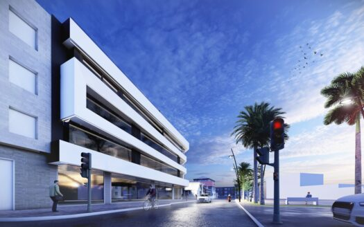 Frontline apartments close to the beach in Lo Pagan