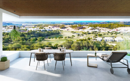 New development of luxury apartments in the exclusive Las Colinas Golf Resort
