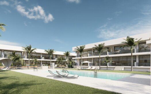 New apartment complex in one of the most exclusive coastal areas of Murcia