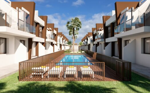 Excellent two bedroom modern apartment close to the sea in San Pedro del Pinatar