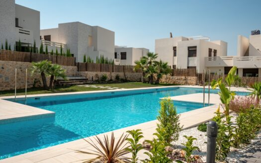 Two bedroom apartments with private garden in La Finca Golf