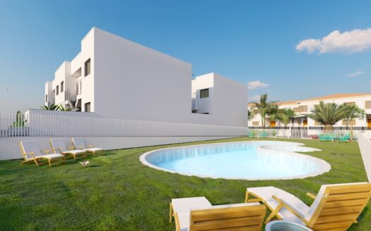 Residential complex located in Torre de la Horadada-Ground floor apartment 5 mins walk to the beach