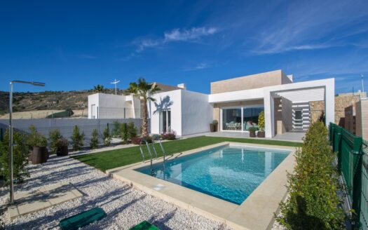 Luxury contemporary villa with contemporary design in Algorfa