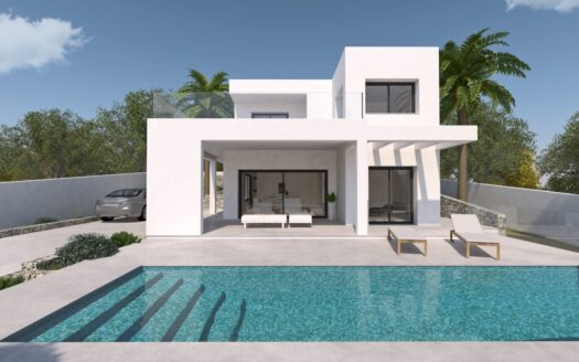 Modern villa with sea views for sale in Javea