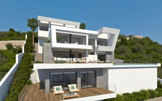 Modern style Villa with 3 bedrooms in Cumbre del Sol