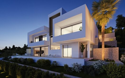 New minimalist Villa with the best quality and perfect design