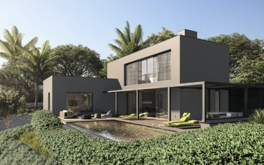 Modern villa with sea views under construction for sale located on Cap Blanc in Moraira
