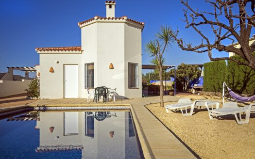 Single storey villa with beautiful views over the valley for sale in Murla